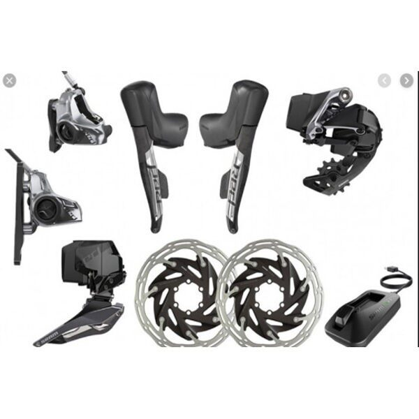 GROUPSETS 12S RED AXS 2X12 ELECTRONIC HRD FM BLACK SRAM