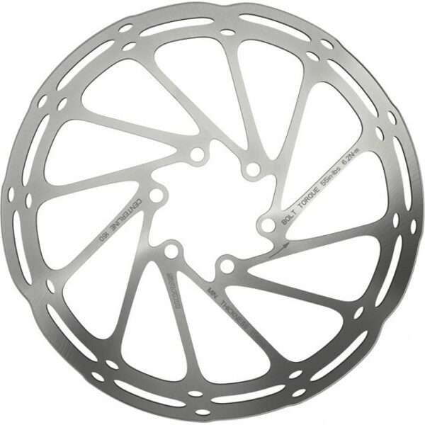 SRAM ROTOR CNTRLN 140MM ROUNDED